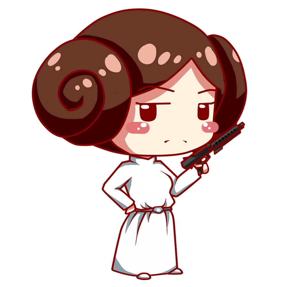 clip freeuse stock Chewbacca clipart vector. Best hd princess leia.