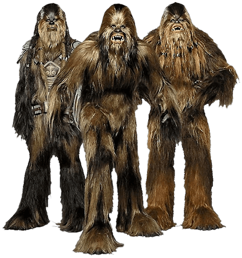 clip royalty free download Star wars png . Chewbacca transparent full size