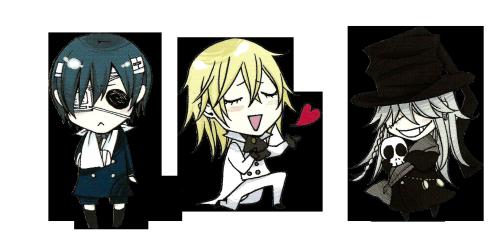 svg royalty free download Transparent chibi black butler. Kuroshitsuji sebastian ciel why