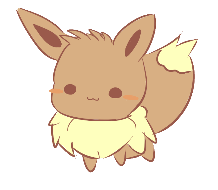 picture transparent stock Chibi Eevee by Arzaela on DeviantArt