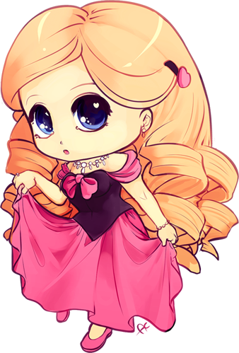 clipart freeuse stock Drawing princess cute. Image chibi colored by