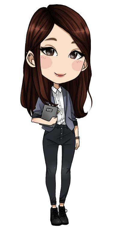 png royalty free download Deviantart mangaka transprent png. Drawing teacher chibi