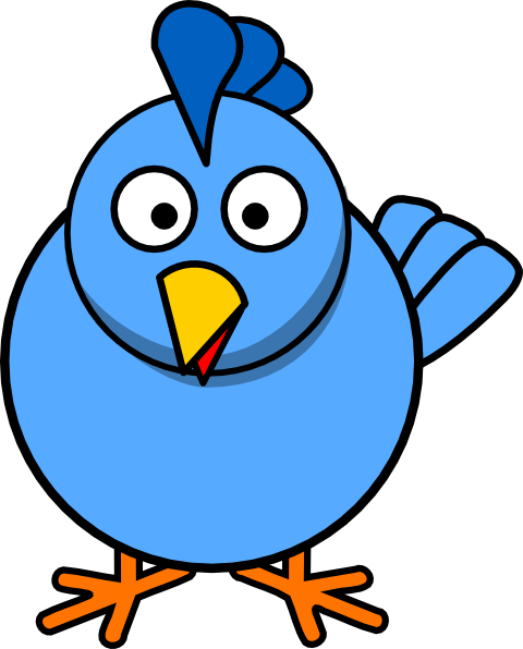 svg royalty free library Blue clip art at. Chick clipart 2 chicken.