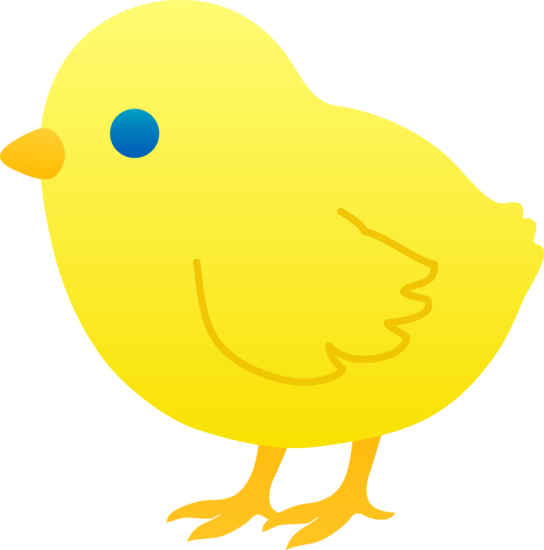 clip art freeuse stock Yellow . Chick clipart.
