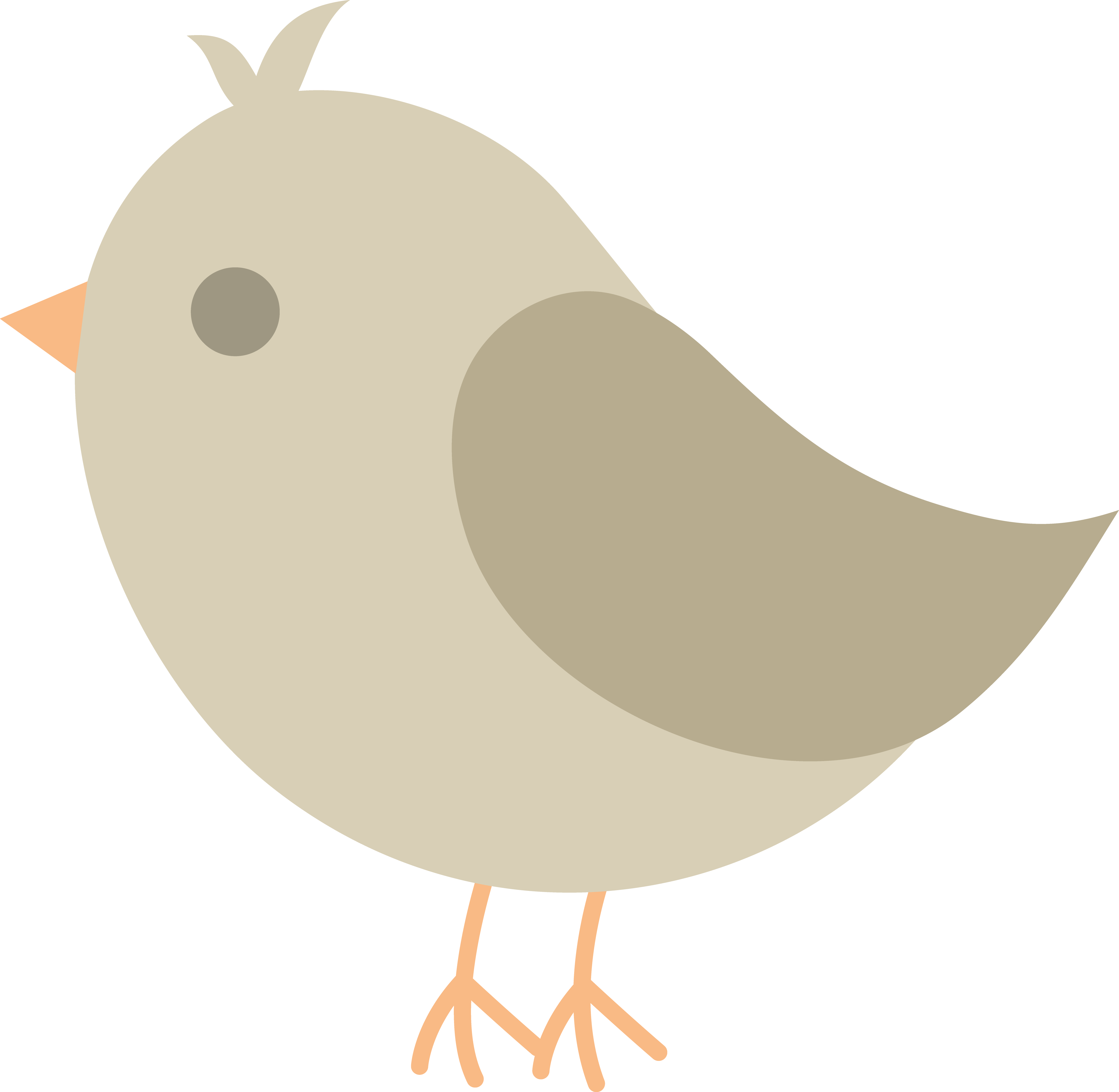 clip free Chick clipart. Baby grey .