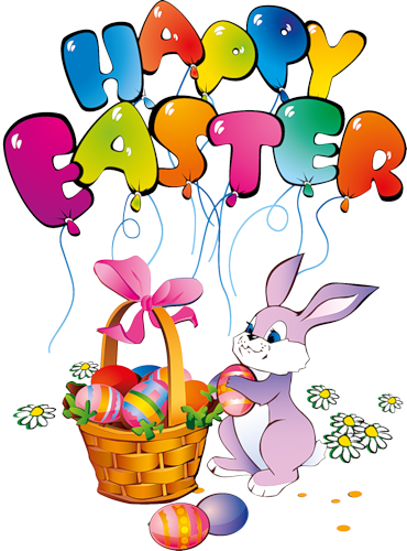 banner download May clipart easter. Images of bunny png.