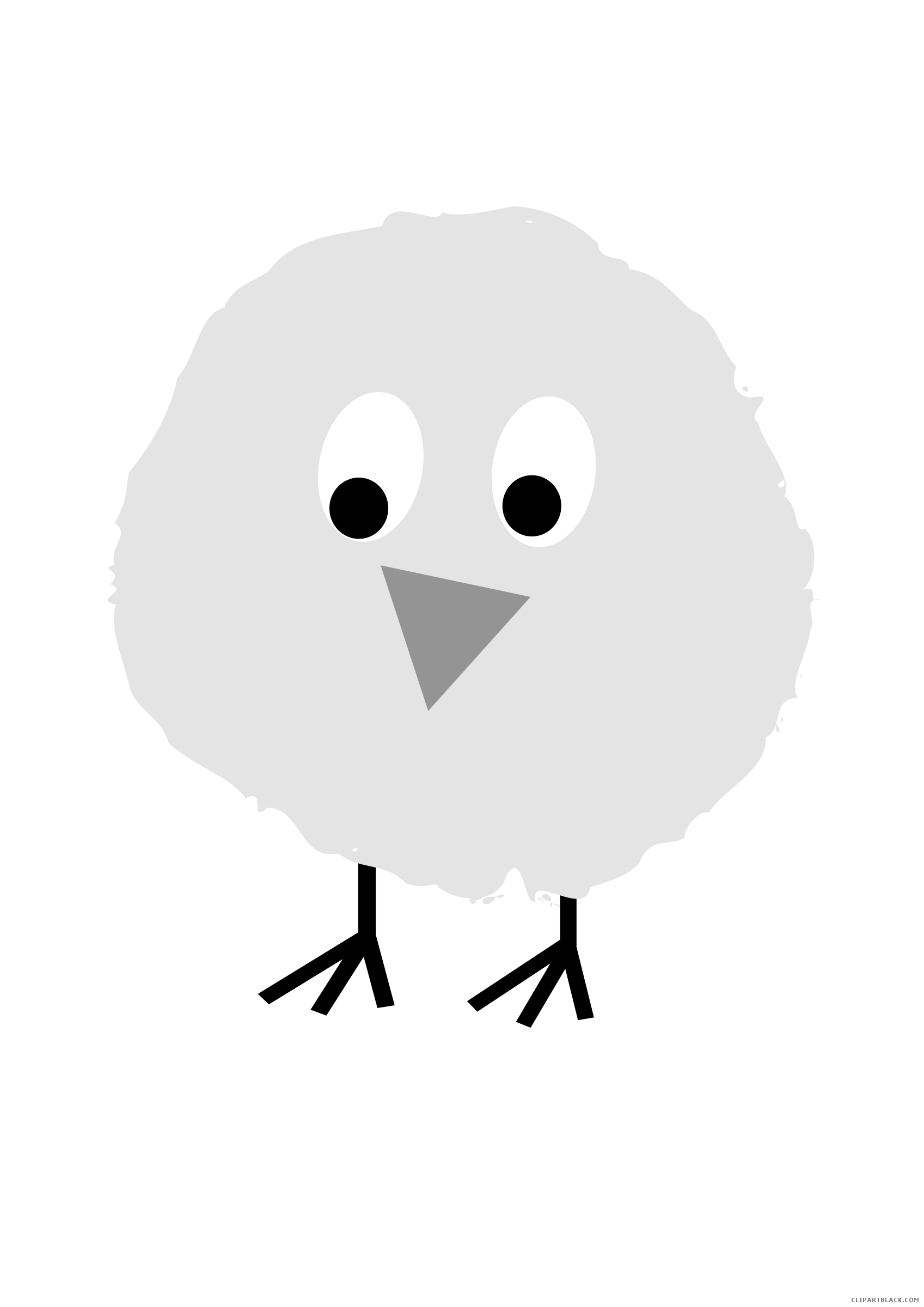picture library Chick clipart fluffy. Clipartblack com animal free.