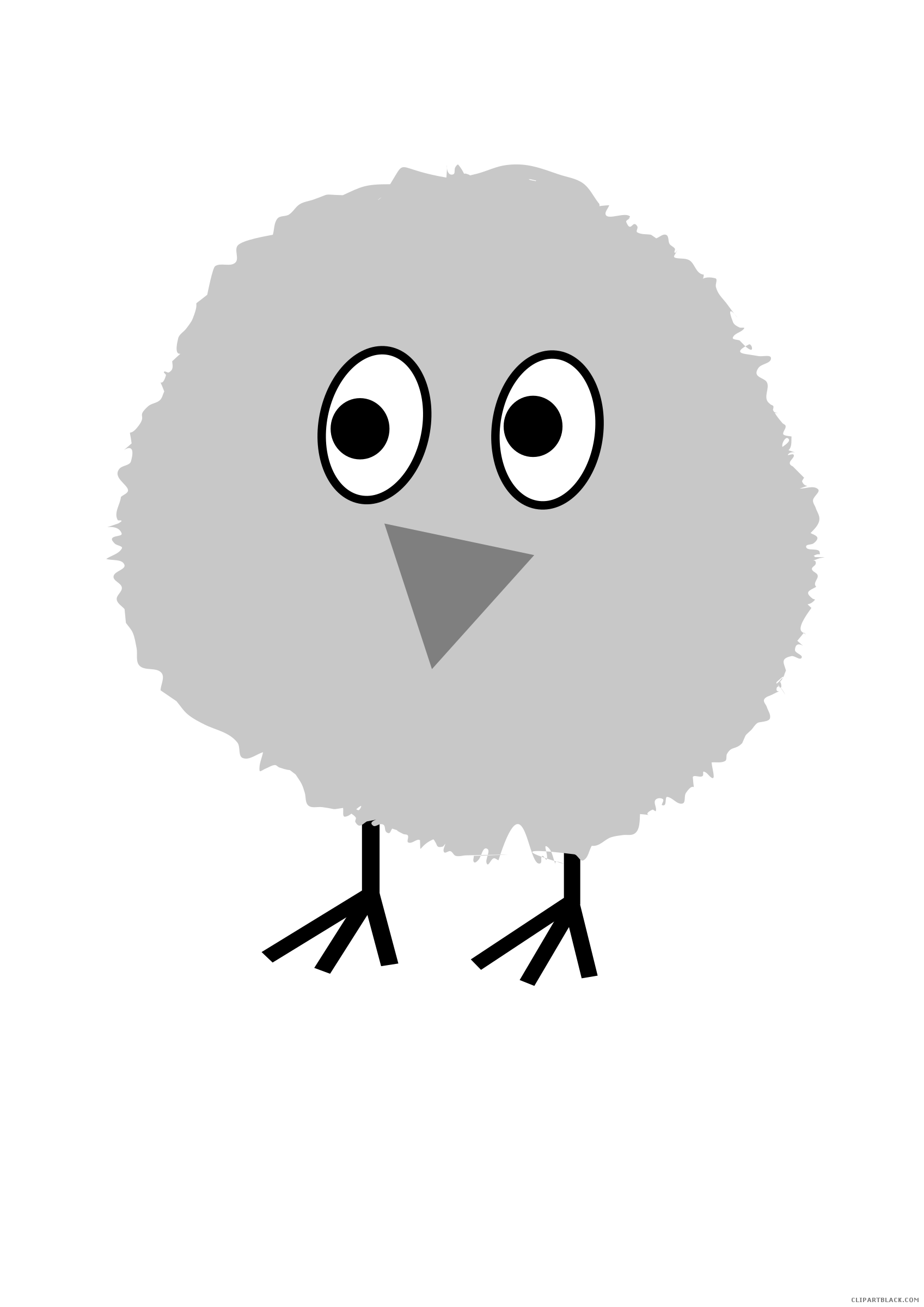 picture library Clipartblack com animal free. Chick clipart fluffy.