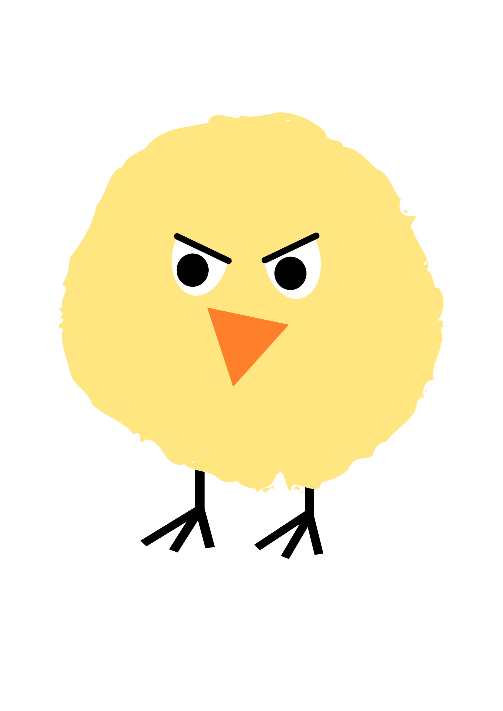 png freeuse download Chick clipart fluffy. Big image png.