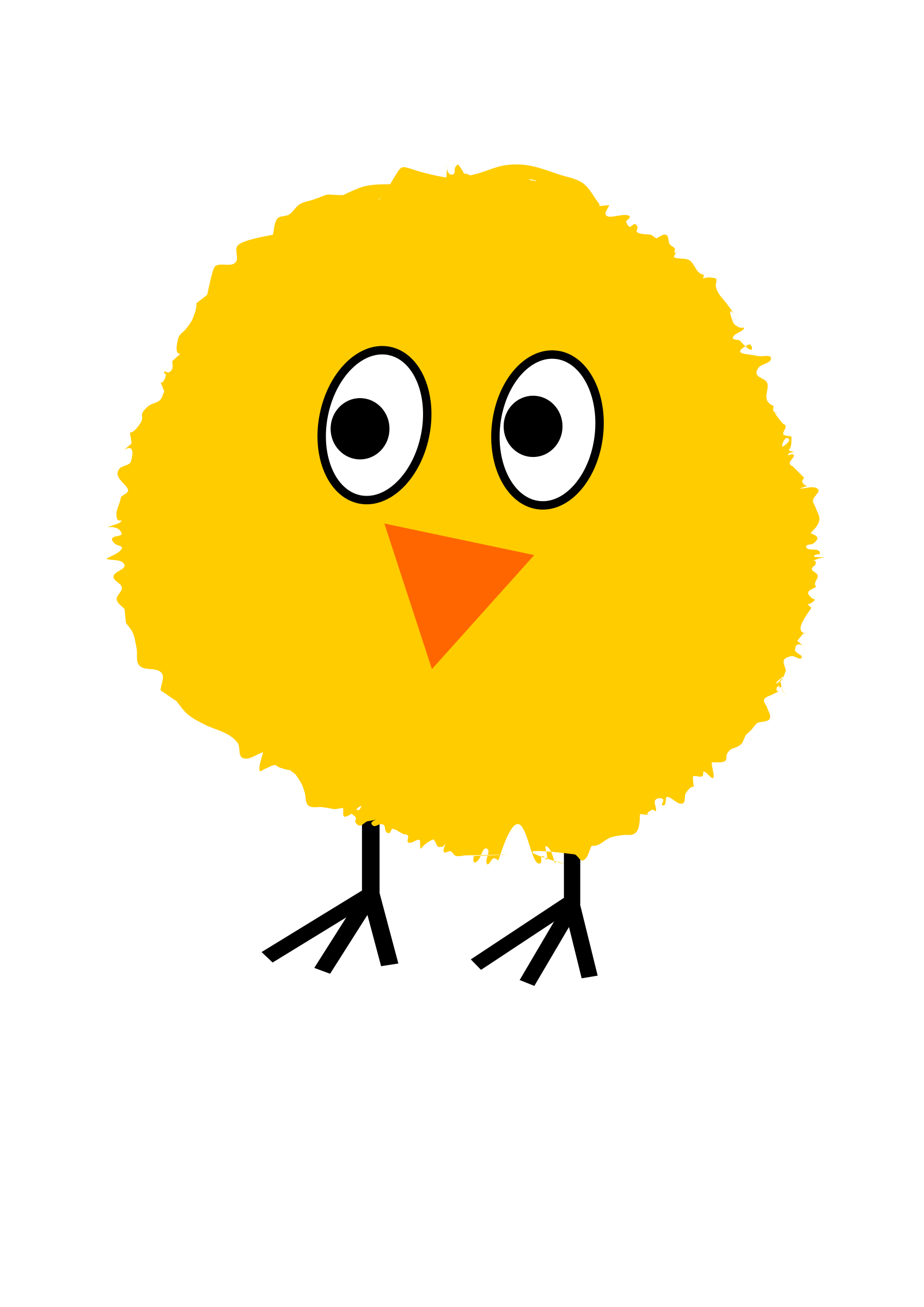 picture Big image png. Chick clipart fluffy.