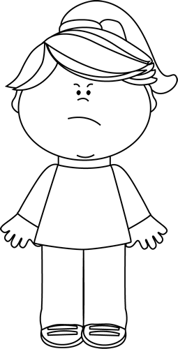 clip art library download Black and white angry. Chick clipart mad.