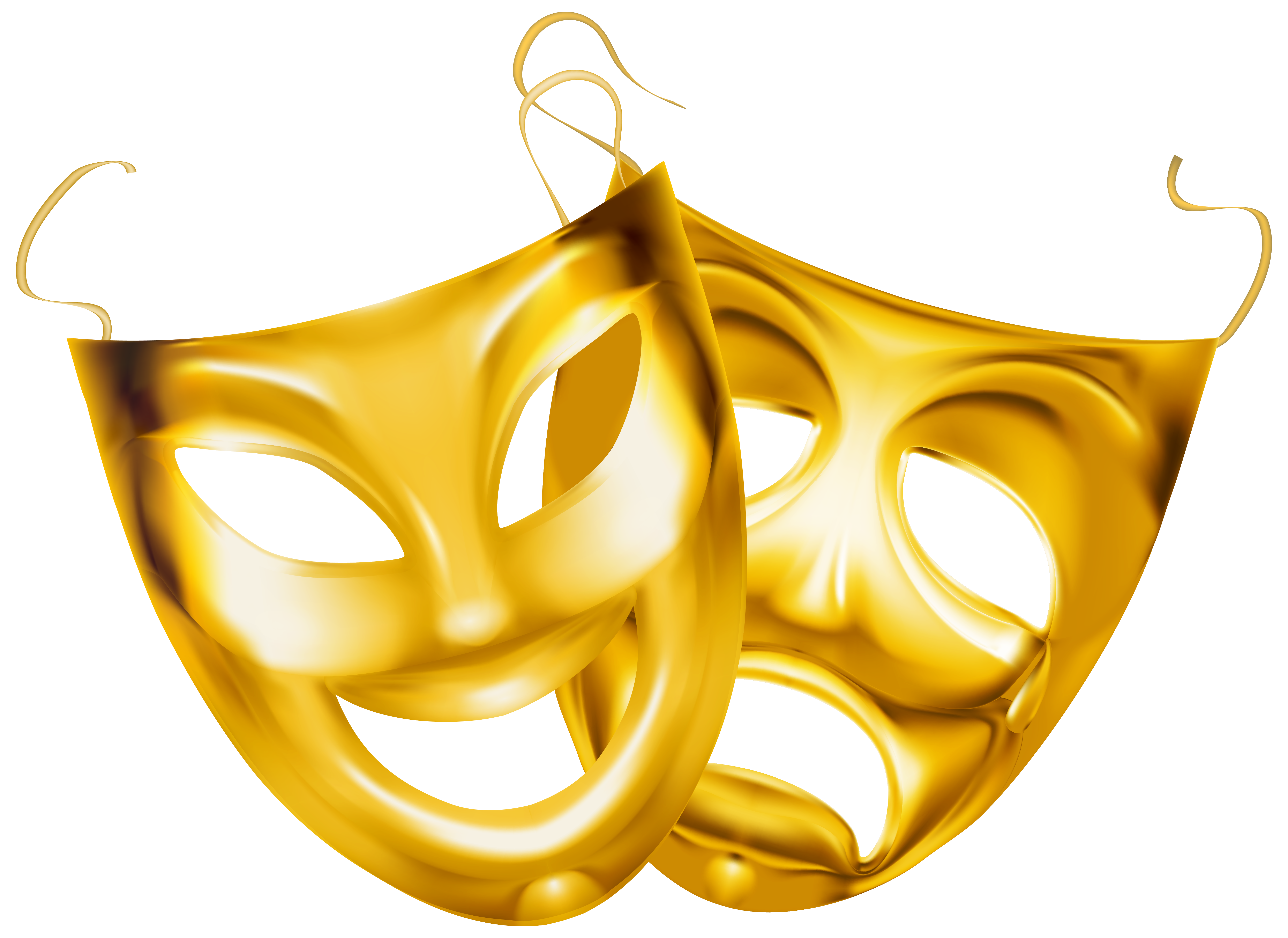clip art royalty free stock Masquerade clipart golden. Gold theater masks png.