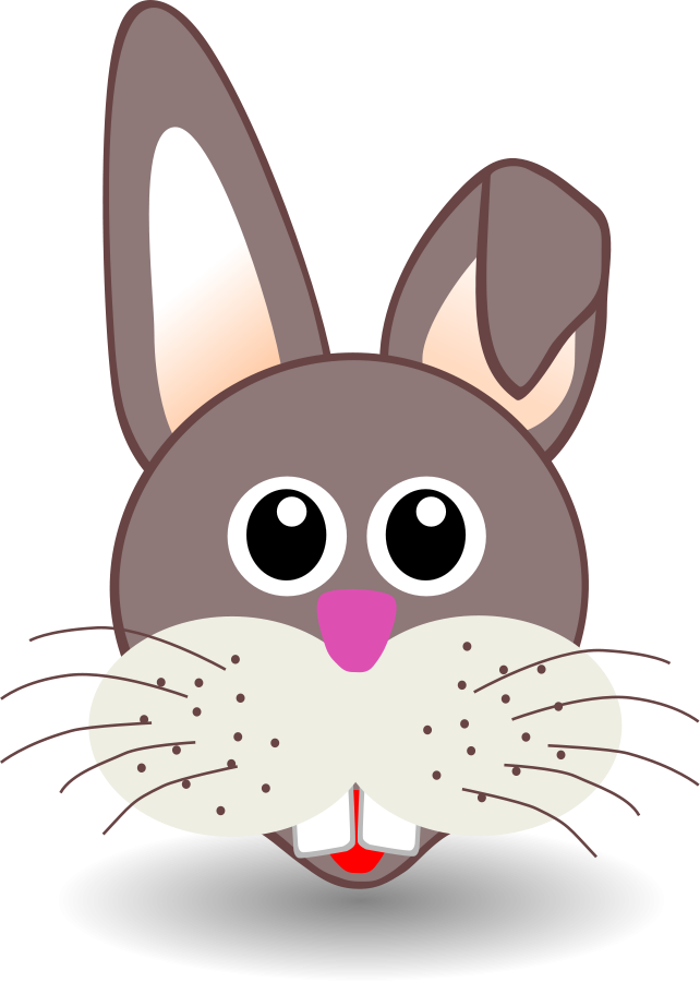 graphic free download easter bunny Rabibt Vector Clipart