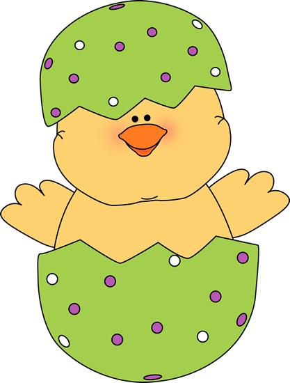 picture royalty free stock Writing paper clipart. Chick in an easter