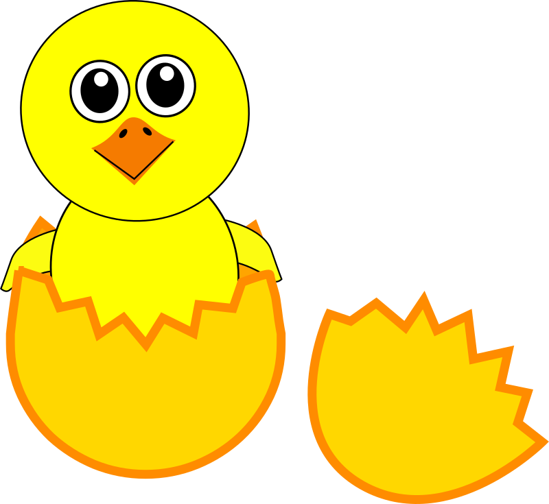 png black and white Cliparts free download clip. Chick clipart two.
