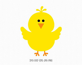 clipart freeuse library Cute chick svg