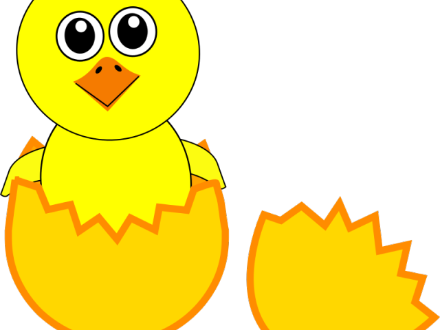 clip art black and white Chick free for download. Hen and chicks clipart.