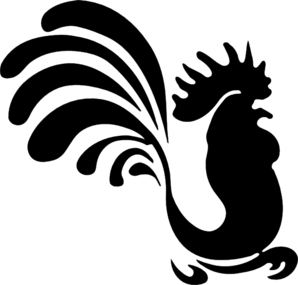 vector Chicken clipart logo. Clip art at clker.