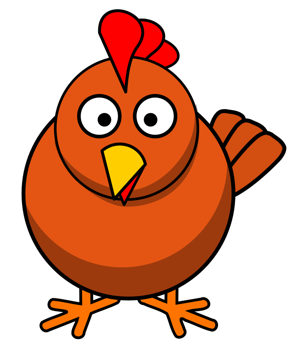 svg freeuse stock Chickens clipart. Public domain clip art