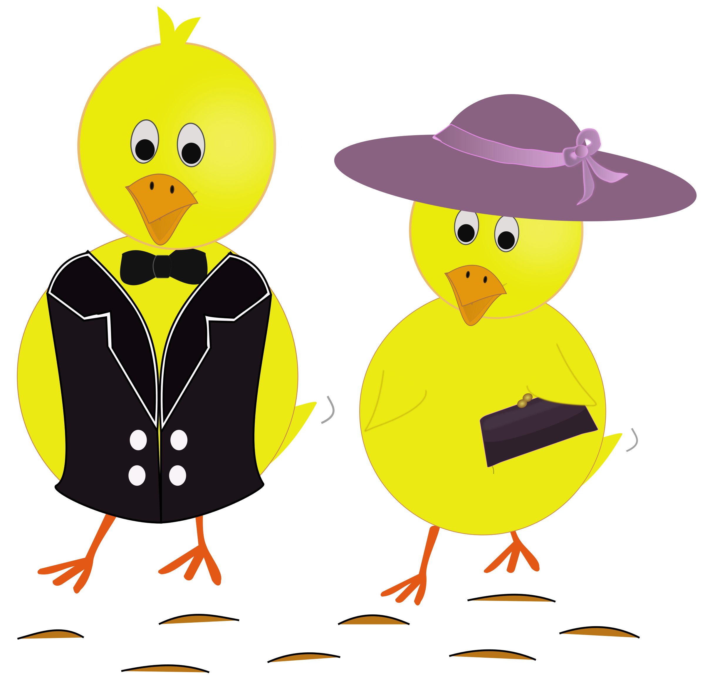 picture freeuse library Sunday chicks big image. Chickens clipart easter.