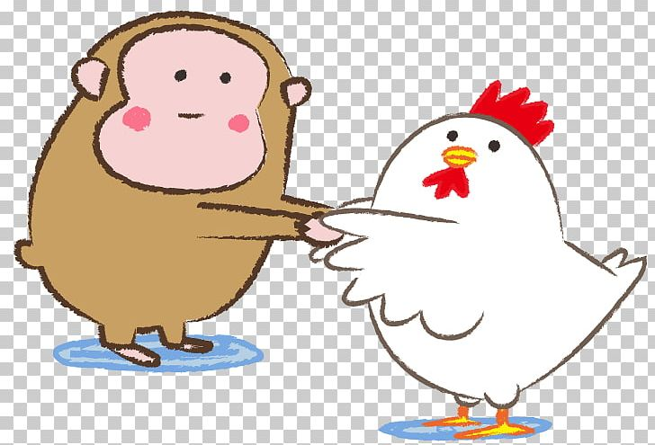 svg transparent download Chicken rooster sexagenary cycle. Chickens clipart monkey.