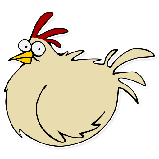 royalty free download A feral chicken from the game