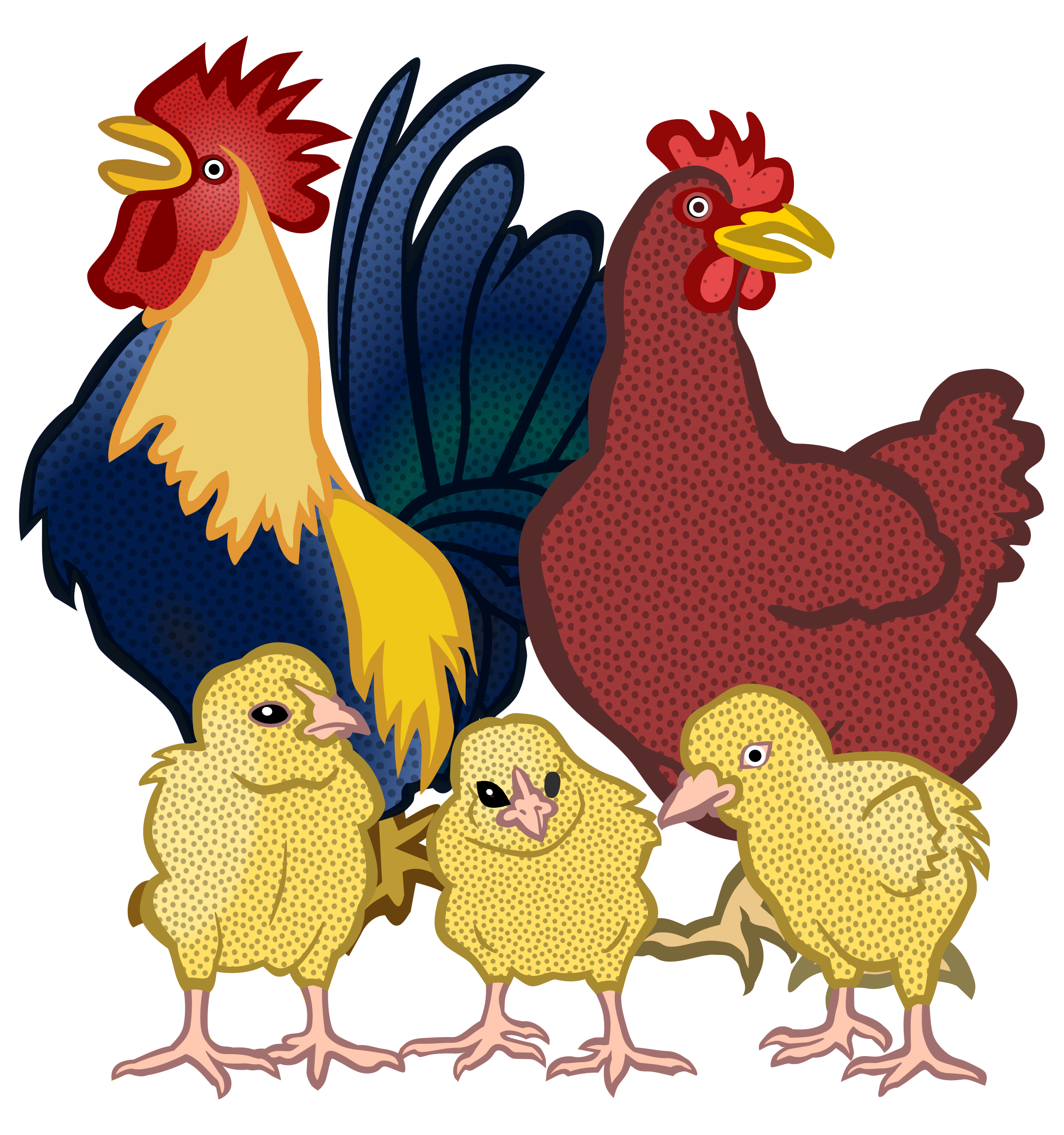 picture free stock Coloured big image png. Chickens clipart