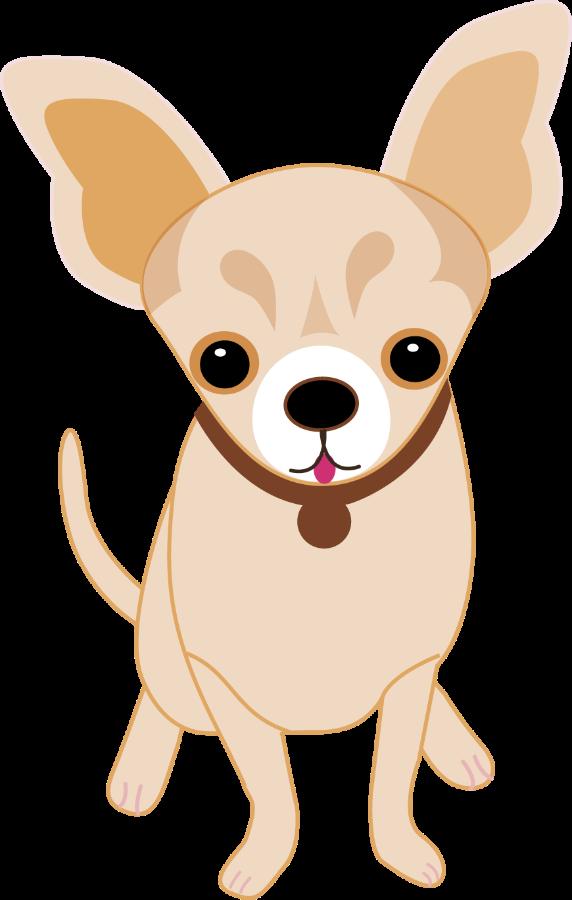 clip art freeuse library Chihuahua clipart. Cachorrinhos e gatinhos minus