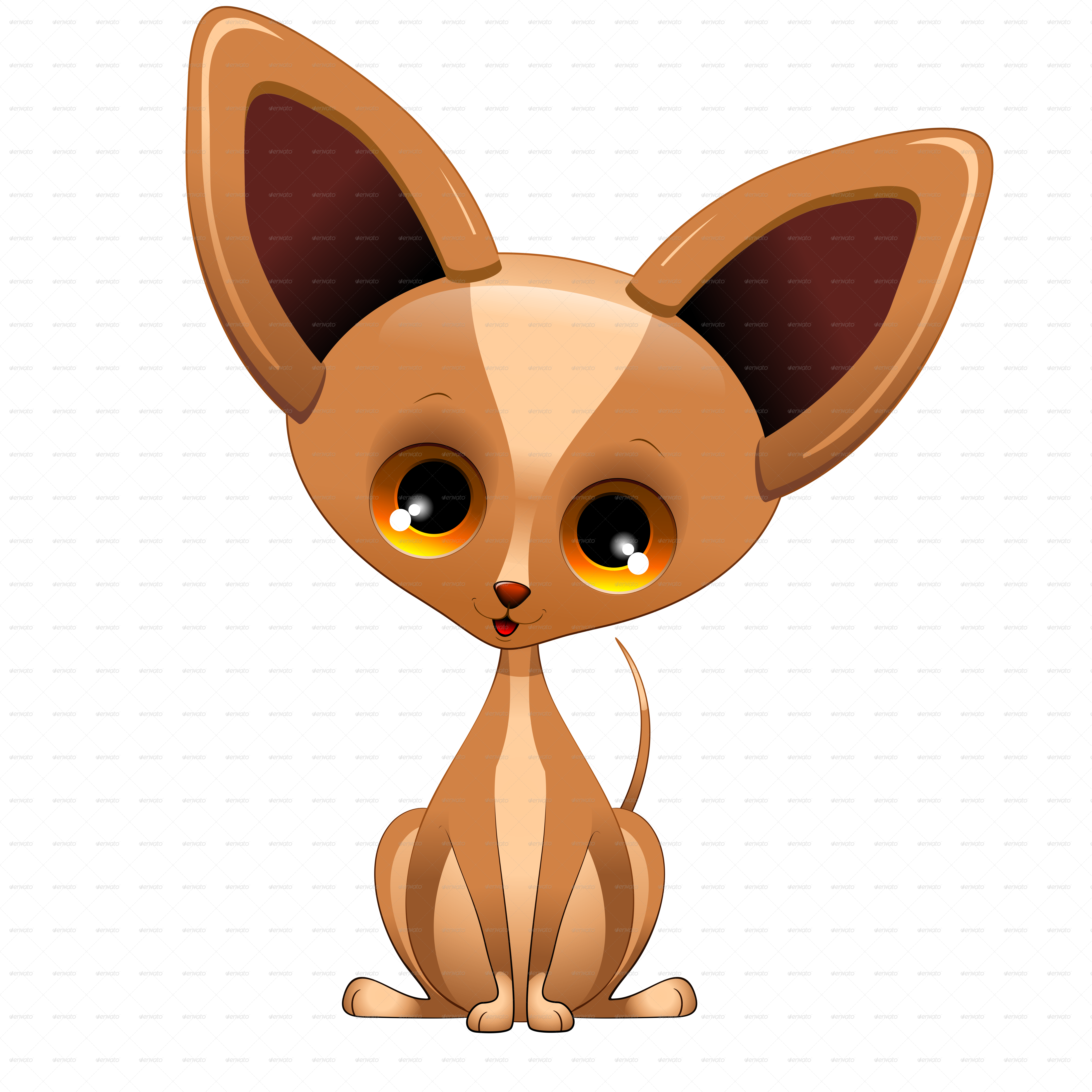 jpg freeuse download Chihuahua clipart chihuahua puppy. Dog cartoon from mexico.