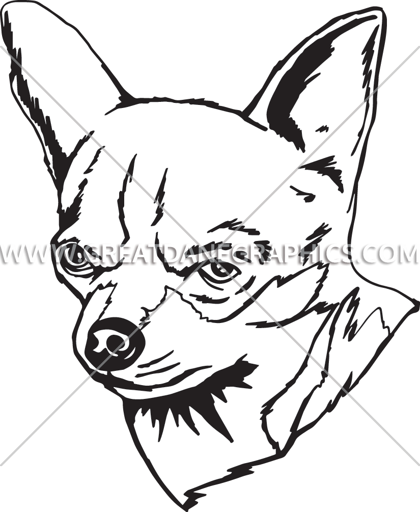 graphic black and white download Chihuahua clipart line. Drawing at getdrawings com.