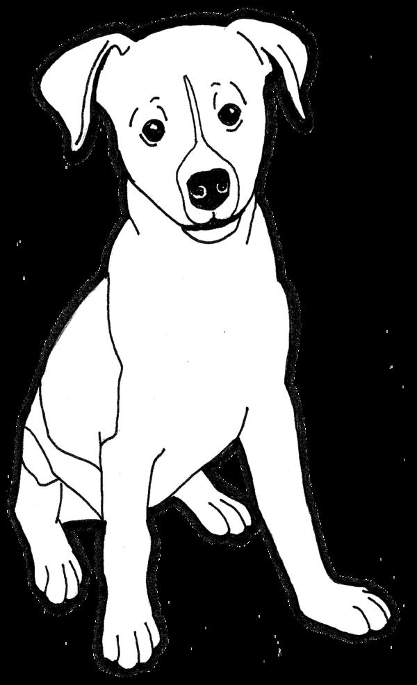 png transparent download Clip art cliparts co. Chihuahua clipart line.