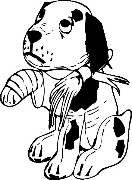 graphic freeuse Pug Clipart sad cartoon