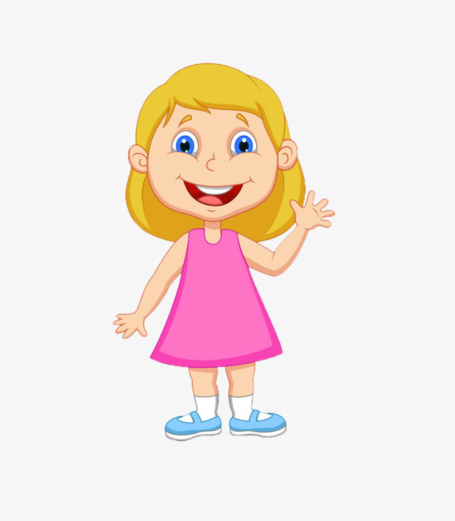 clipart free stock Girl station . Child clipart