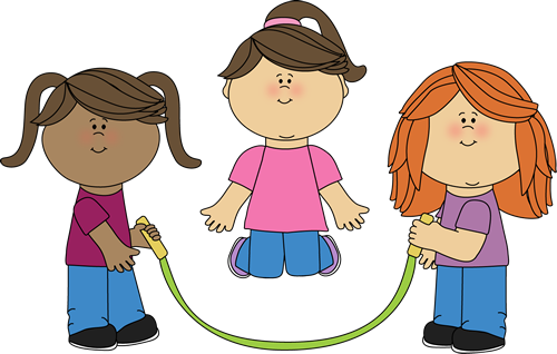 png library Kids clip art of. Child clipart jumping rope.