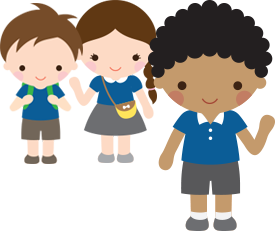 svg library download Child clipart respectful. St leonard s primary.