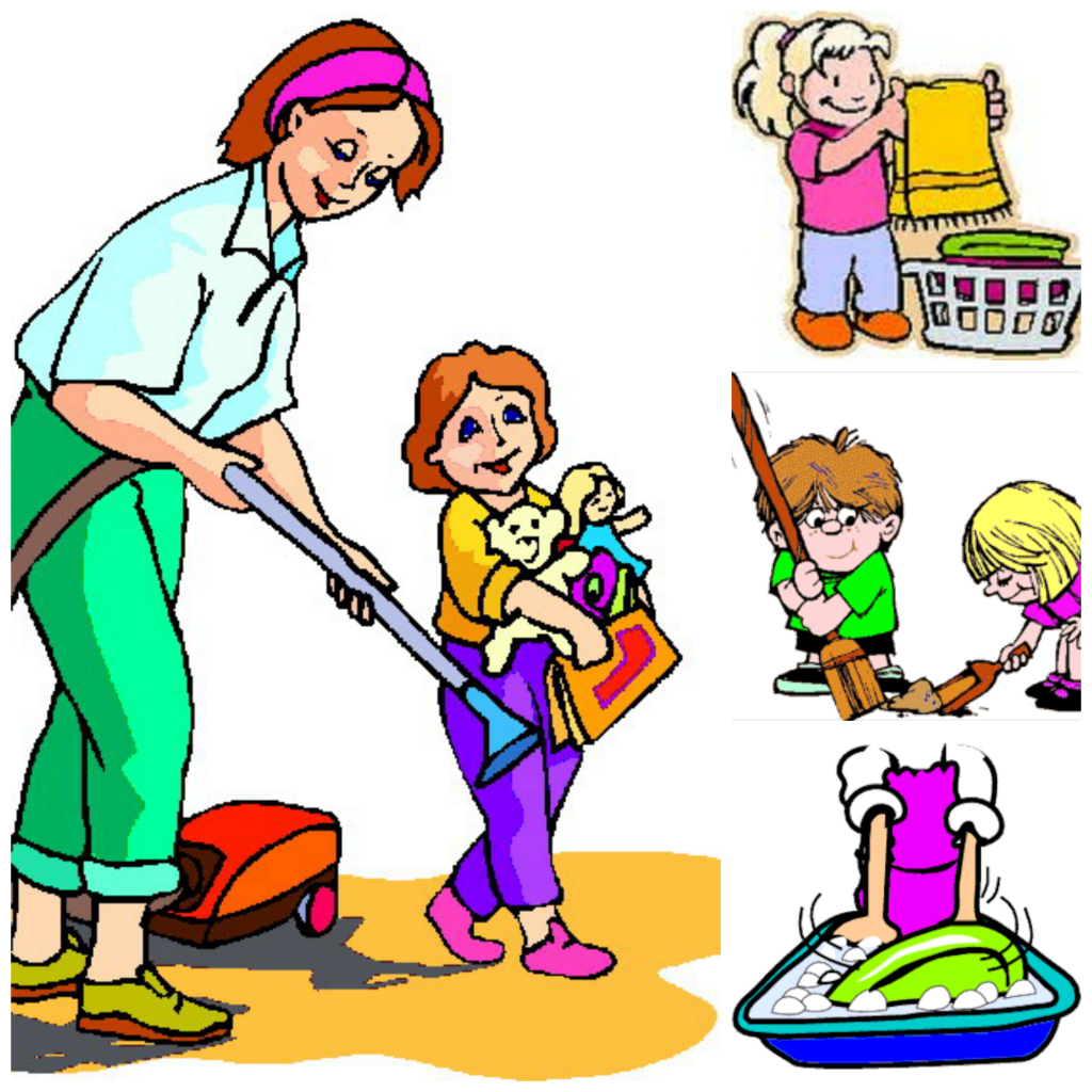 clip freeuse Free chores cliparts download. Kids responsibility clipart