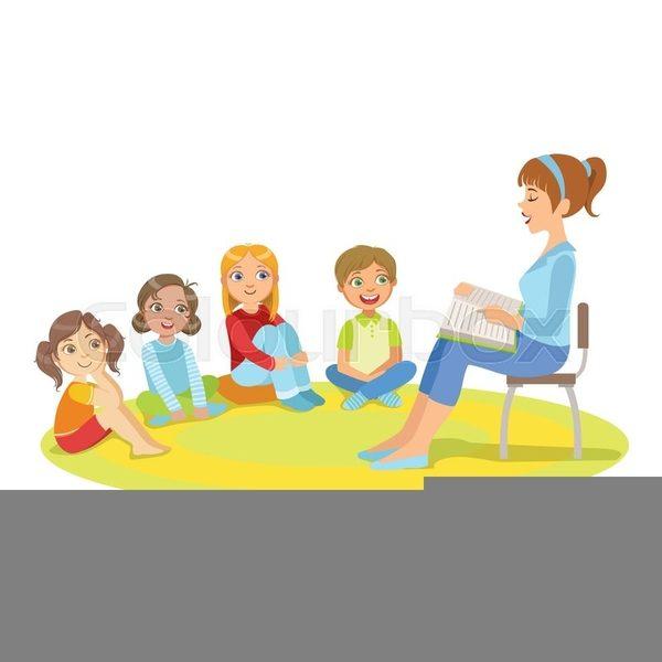 jpg free stock Children free images at. Kids listening to teacher clipart
