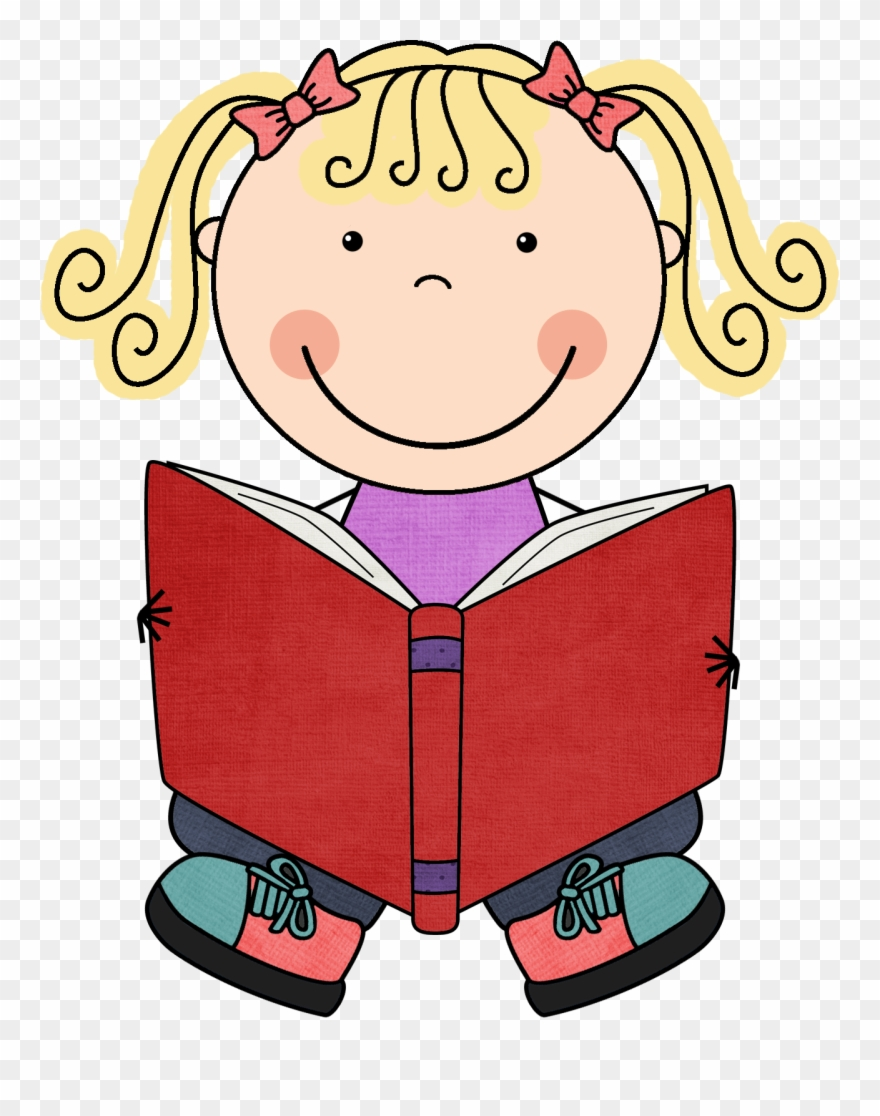 banner freeuse library Kid reading clipart. Child book png download