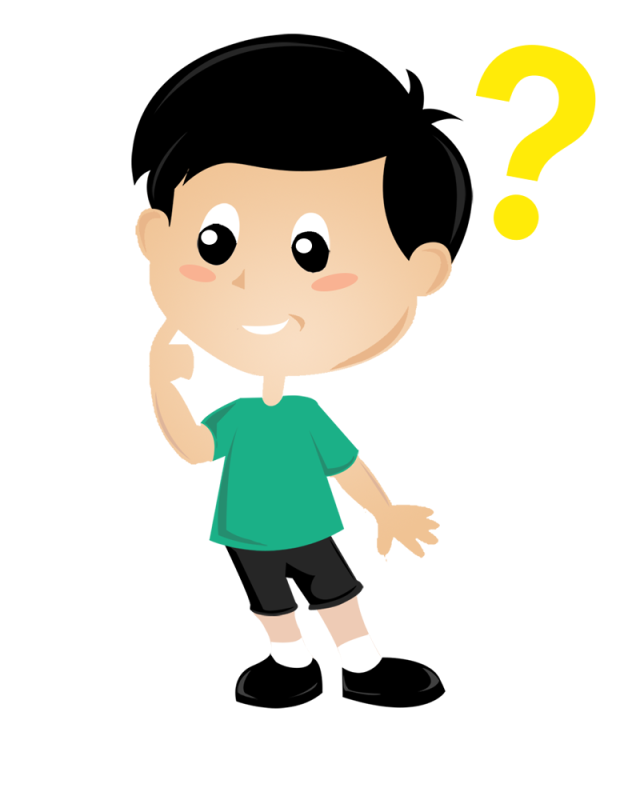 graphic freeuse Kid thinking clipart. Child thought clip art.