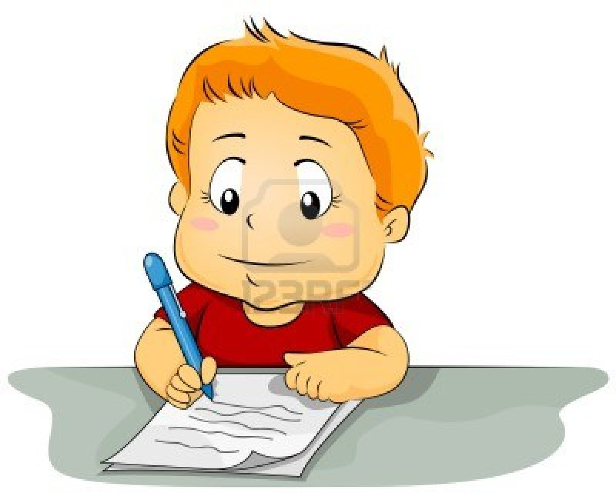 vector free Child writing clipart. Displaying gt images for