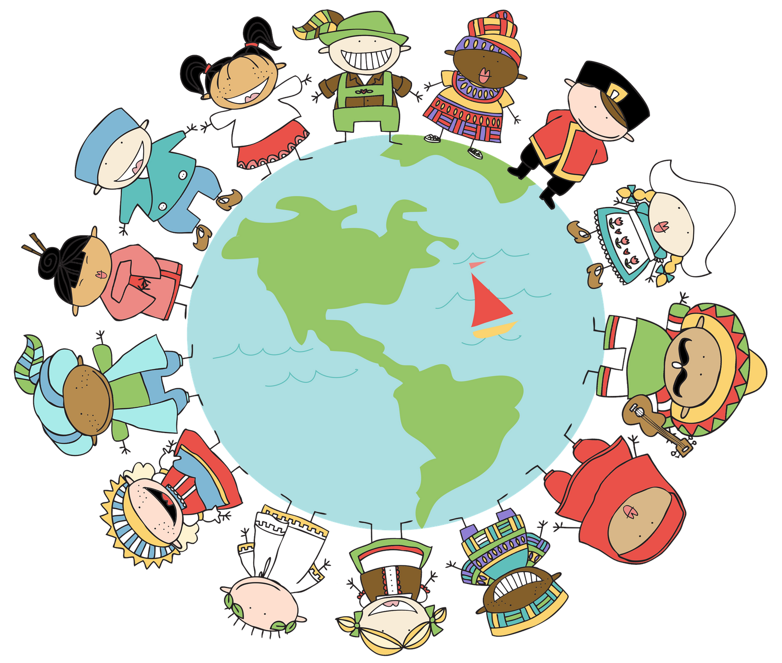 svg royalty free download Around The World Clipart at GetDrawings
