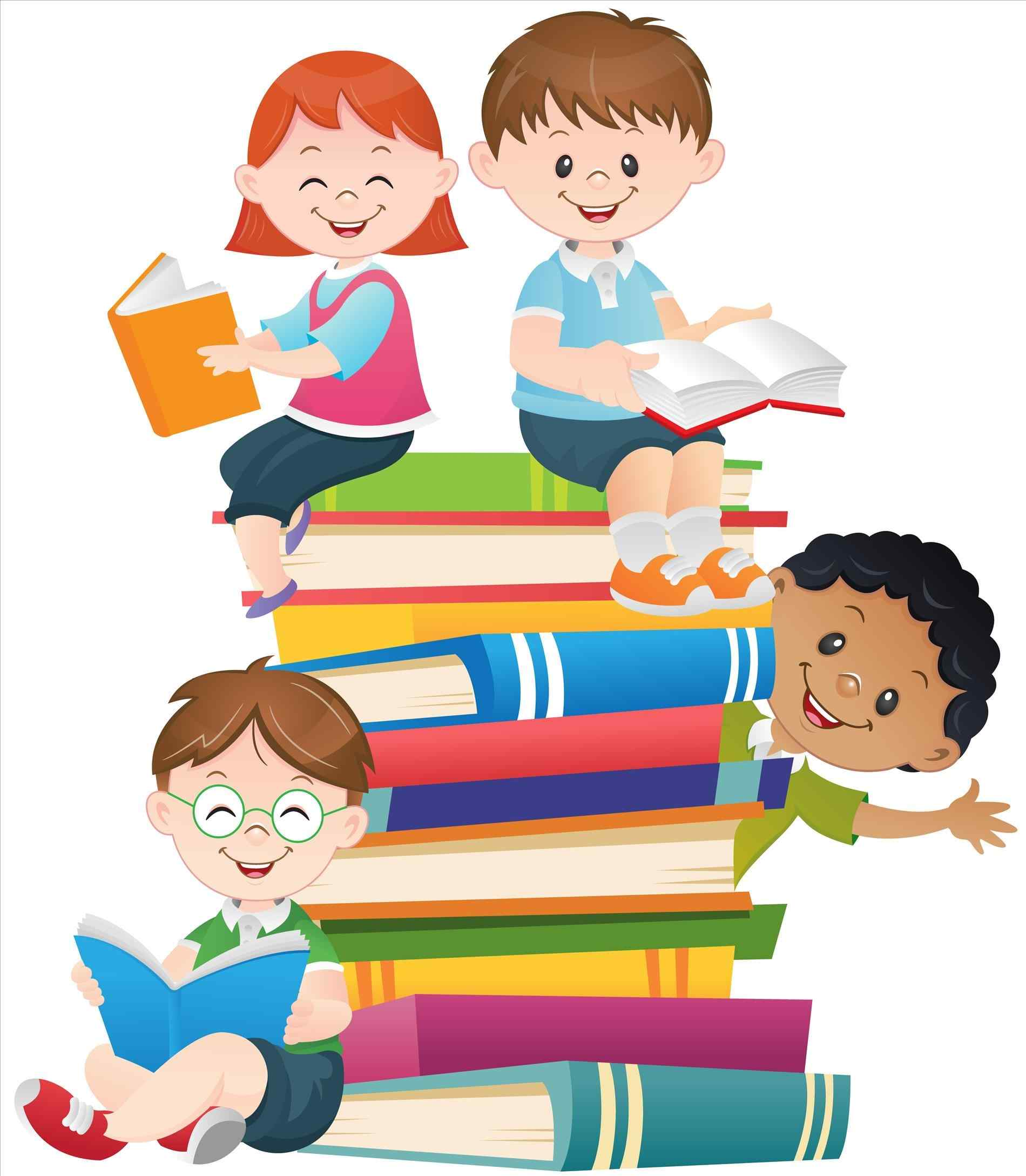 stock Kids at school clipart. Free download best .