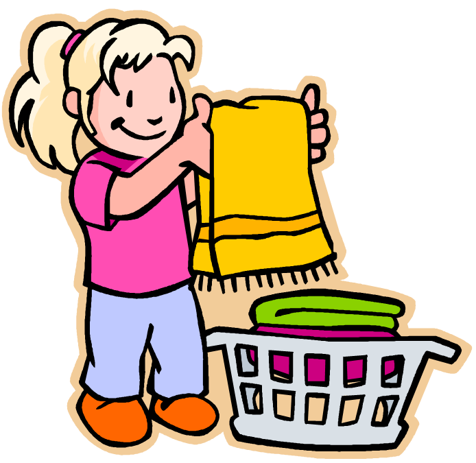 clip free stock  collection of girl. Responsibility clipart for kids