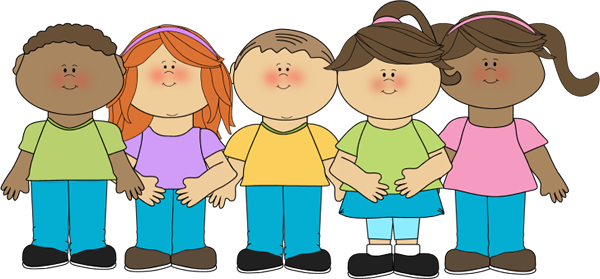 vector transparent download Children clipart. Happy clip art image