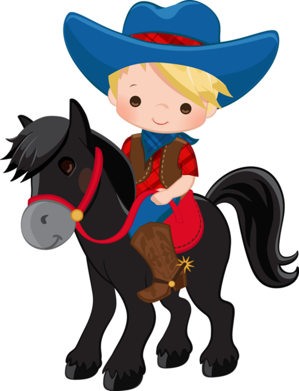 picture transparent stock Children clipart cowboy. Personnages illustration individu personne.