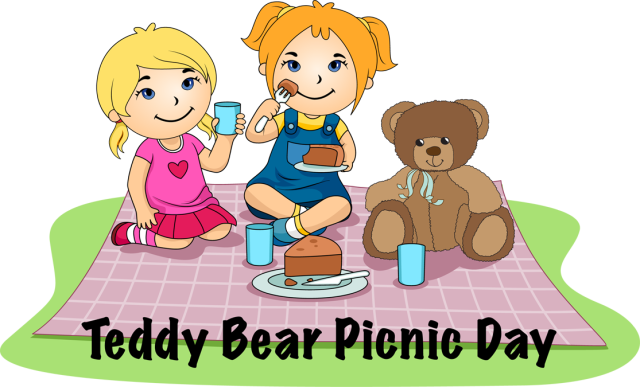 graphic stock Teddy bear picnic clipart. Take your on a