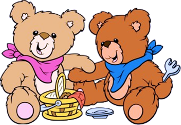 picture freeuse stock Teddy bears whitford family. Children clipart picnic.