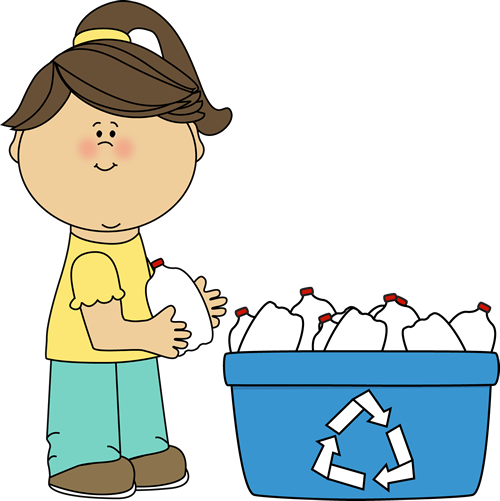 stock Children clipart recycling. Free mycutegraphics environmental clip.