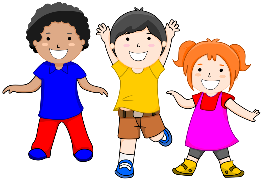 vector free download Kids clipart.  school images free