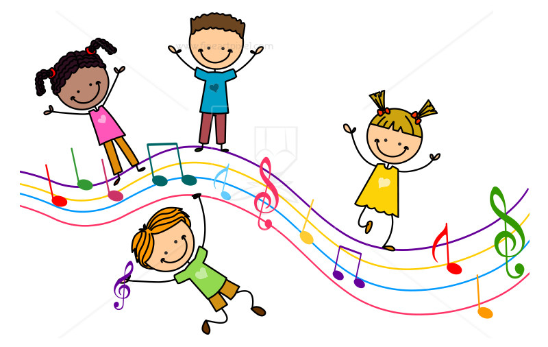 clip art library download For portal . Kids music clipart